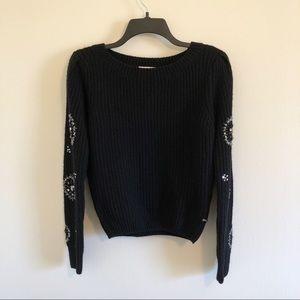 Line & Dot Knit Sweater